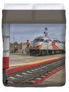 Rail Runner Train Albuquerque Nm Sc02985 Duvet Cover