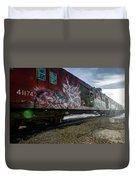 Railcar Graffiti Duvet Cover