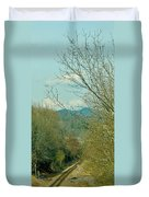 Railroad Adventure Duvet Cover