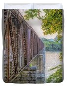 Railroad Bridge14 Duvet Cover