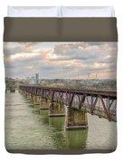 Railroad Bridge3 Duvet Cover