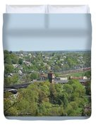 Railroad Duvet Cover