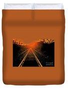 Railroad  Surreal Perspective IIi Duvet Cover