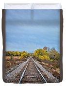 Rails To Parkersburg 2 Duvet Cover