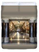 Railway Hall Duvet Cover
