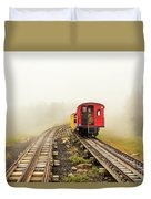 Railway To The Summit Duvet Cover