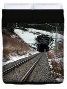 Railway Track Duvet Cover