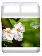 Rain Drenched Pair Duvet Cover