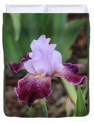 Rain Drop Iris Duvet Cover
