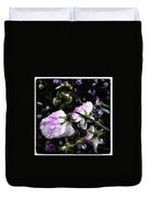 Rain Kissed Petals. This Flower Art Duvet Cover