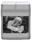 Rain Kissed Rhine Flower Duvet Cover