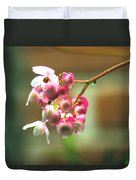 Rain On Flowers Duvet Cover