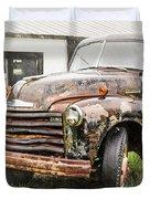 Rain On Rust 1 Duvet Cover