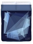 Rain Polygon Pattern Duvet Cover