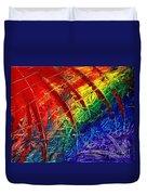 Rainbow Abstract Duvet Cover