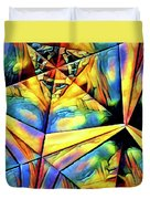 Rainbow Abstract Duvet Cover
