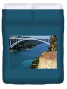 Rainbow Bridge Duvet Cover