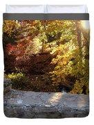 Rainbow Brook  Duvet Cover