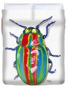 Rainbow Bug Duvet Cover