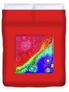 Rainbow Coaster  Duvet Cover