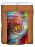Rainbow Dreams Duvet Cover by Linda Sannuti