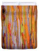 Rainbow Eucalytpus Duvet Cover