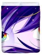 Rainbow Eyes Duvet Cover