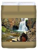 Rainbow Falls 2 Duvet Cover