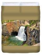 Rainbow Falls 3 Duvet Cover
