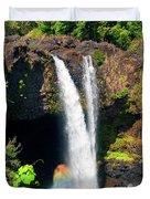 Rainbow Falls I Duvet Cover