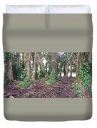 Rainbow Falls Park, Hilo Duvet Cover