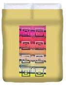 Rainbow Glass Duvet Cover