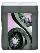 Rainbow Glass Magic Duvet Cover