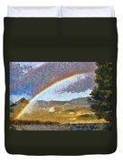 Rainbow - Id 16217-152046-6654 Duvet Cover