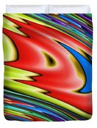 Rainbow In Abstract 04 Duvet Cover