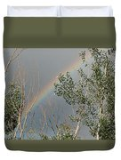 Rainbow In The Trees Duvet Cover