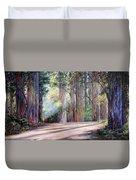 Rainbow Lane Duvet Cover