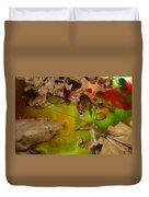 Rainbow Leaves 3 Duvet Cover