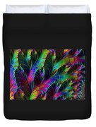 Rainbow Leaves Duvet Cover