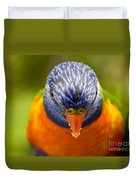 Rainbow Lorikeet Duvet Cover