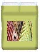 Rainbow Of Palms Gp Duvet Cover