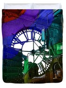 Rainbow Of Time Duvet Cover