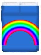 Rainbow On Sky Duvet Cover