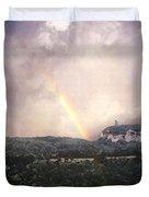 Rainbow Over Gunks Duvet Cover
