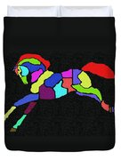 Rainbow Pony Duvet Cover