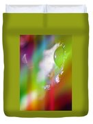 Rainbow Rain 2 Duvet Cover