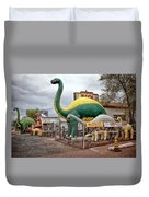 Rainbow Rock Shop Dino Duvet Cover