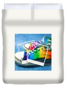 Rainbow Sneakers One Duvet Cover