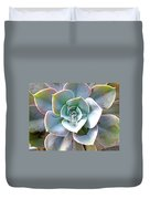 Rainbow Succulent - My Cup Runneth Over Duvet Cover