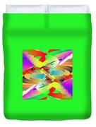 Rainbow Tornado Duvet Cover
